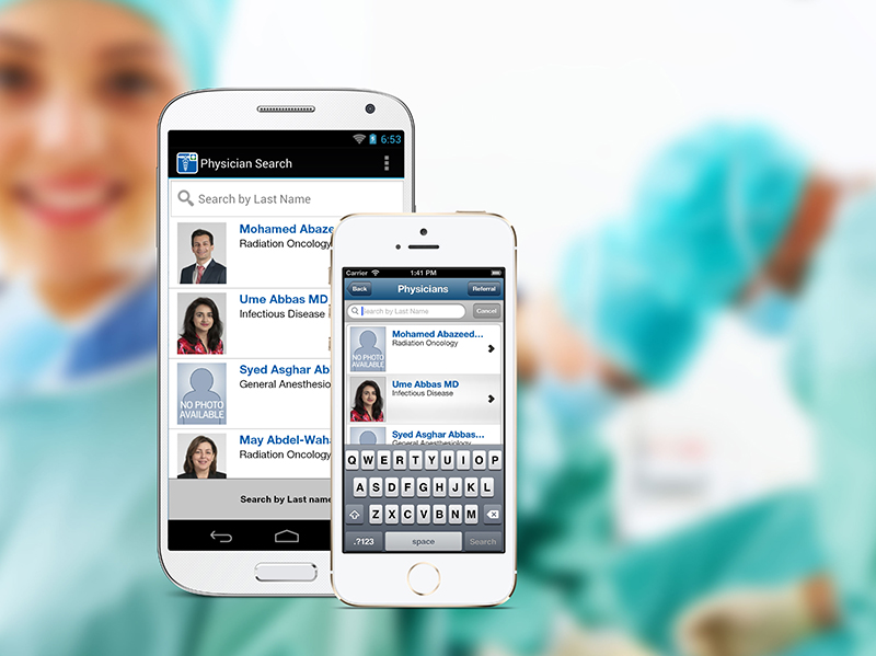 Cleveland Clinic Physician Referral App