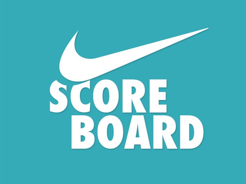 Nike Scoreboard App