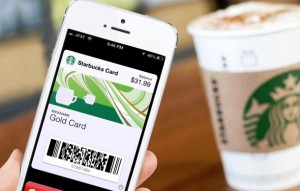 ibeacons at starbucks