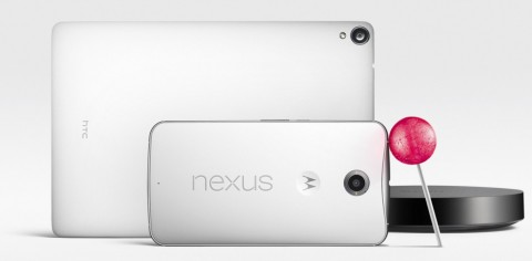 Android Lollipop, Nexus 6, Nexus 9