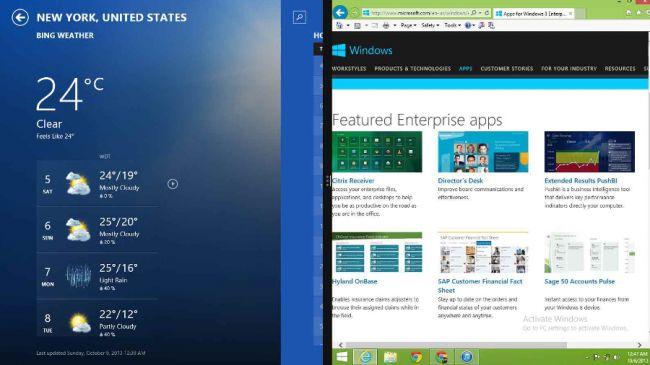 Split Screen Microsoft