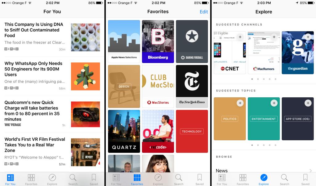 iOS9 news