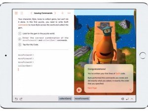 Learn to code with Apple's Swift Playgrounds on your iPad