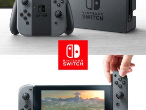 Nintendo Switch to be released in March 2017